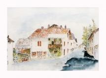 71-le-bourg-a-st-quentin-sur-isere-aquarelle
